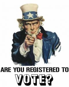 are you registered to vote a