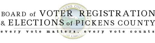 Board of Voter Registration & Elections of Pickens County