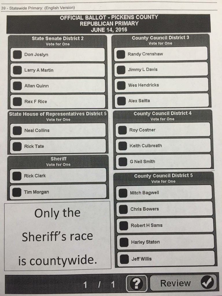 All Offices Sample Ballot